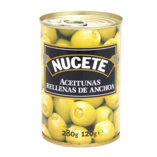 Aceitunas Rellenas Con Anchoas